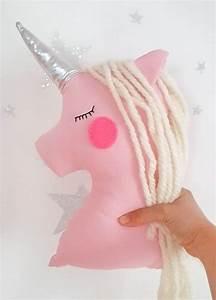 Einhorn Kissen Nähen : einhorn puppe m rchen geschenk f r m dchen gef llte rosa ~ A.2002-acura-tl-radio.info Haus und Dekorationen
