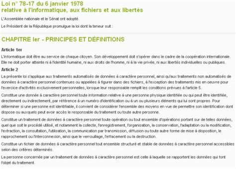 d 233 finition loi informatique et libert 233 s 187 d 233 finitions marketing