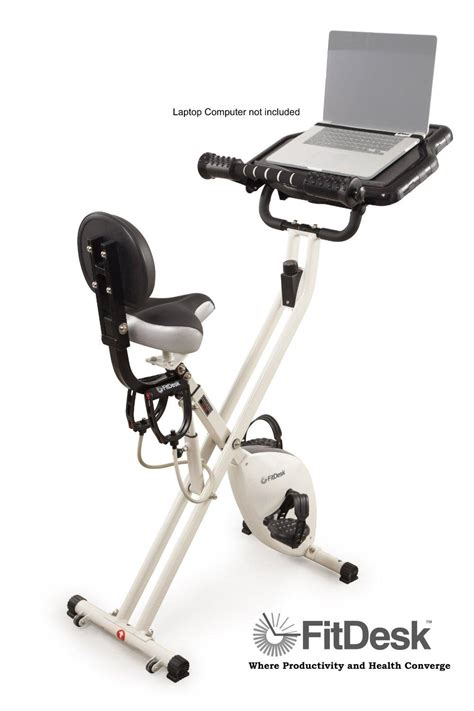 Recumbent Bike Fit Desk by Fitdesk 2 0 Desk Exercise Bike With