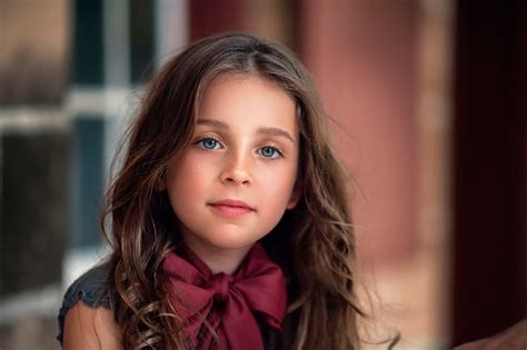images  girls brown haired natural beauty children face