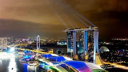Marina Bay Sands Wallpapers Singapore 4k Background