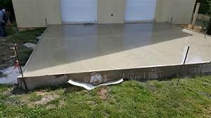 devis dalle beton realisation d39un dalle beton pose dalle With realisation dalle beton terrasse