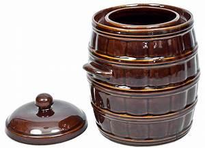 Tontopf Mit Deckel : g rtopf mit deckel wasserrinne tontopf rumtopf aus steingut sauerkrauttopf fa 6 ebay ~ Eleganceandgraceweddings.com Haus und Dekorationen