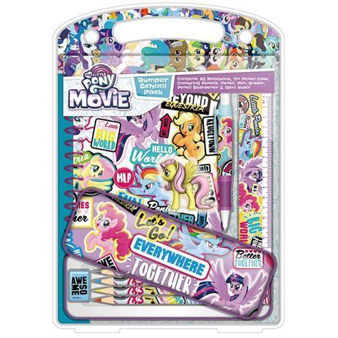 My Little Pony Bumper Stationery Set   Kids Stationery   B&M