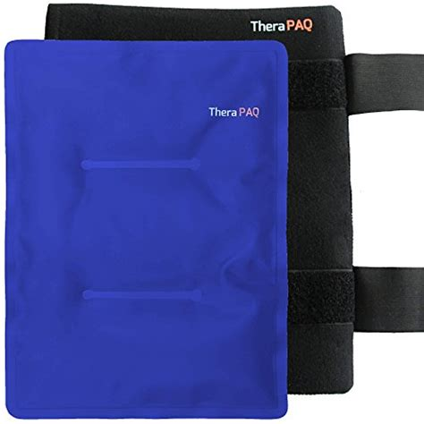 Amazon.com: Reusable Ice Pack with Strap by TheraPAQ