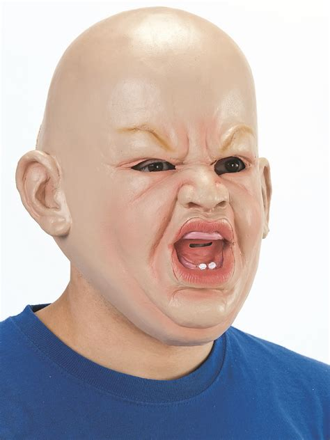 adult angry baby mask bm fancy dress ball