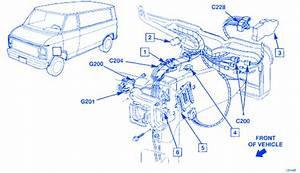 Chevrolet G20 1994 Electrical Circuit Wiring Diagram