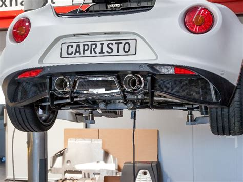 capristo sports exhaust  mufflers alfa romeo