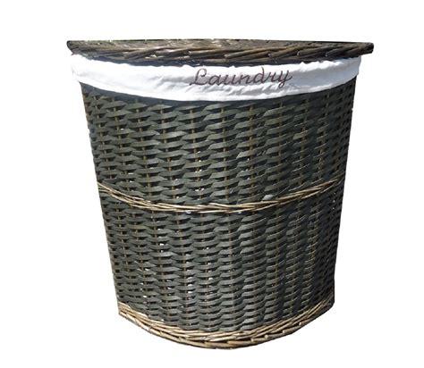 wicker laundry basket with lid 24 corner wicker storage baskets 4 drawer corner storage 1897