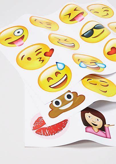 emoji wall decals bedroom decor ideas emoji wall