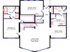 chalet plans bathrooms 4