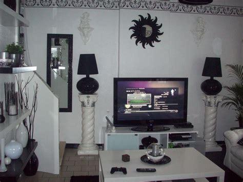 chambre violet et noir impressionnant deco chambre gris et mauve 6 deco salon