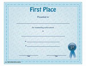certificate design images gallery category page 1 With 1st place certificate template free