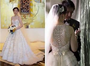 Illusion back wedding dress by veluz winter weddings for Anomalie wedding dress