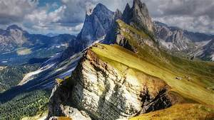 dolomites, mountains, , val, gardena