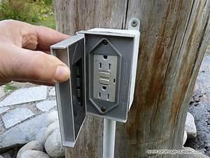 Installation Prise Electrique Pour Voiture : prise lectrique ext rieure tanche au jardin installation ~ Maxctalentgroup.com Avis de Voitures