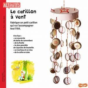 Fabriquer Un Carillon : un bricolage pour l 39 t mettre dans le jardin ou sur le balcon le carillon vent avec des ~ Melissatoandfro.com Idées de Décoration