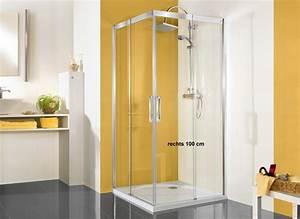 Duschkabine 175 Cm Hoch : duschkabine eckeinstieg schiebet r 100 x 80 cm 220 cm hoch ~ Michelbontemps.com Haus und Dekorationen