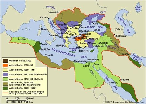 The Ottoman Turks by Ottoman Empire Facts History Map Britannica