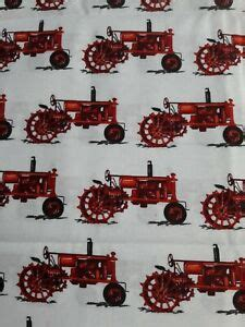 foto de Tractor Fabric By The Yard; Red Tractors Fabric; Robert