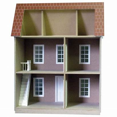 Interior Dollhouse Door Trim Window Landing Banister
