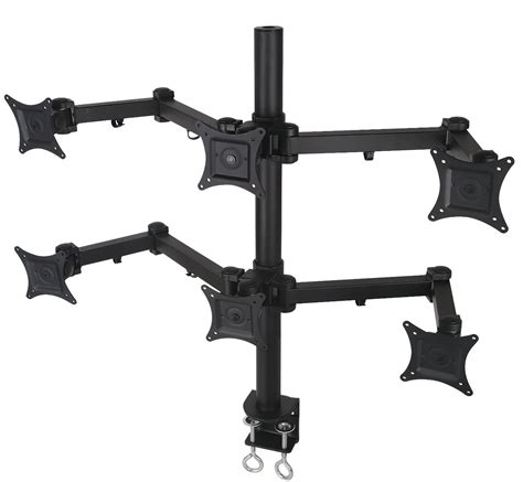 6 monitor desk mount best 6 monitor stands desk mount may 2018 the world