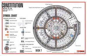 deck 7 constitution class star trek deck plans