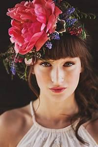 Boho Bridal Fabulous Floral Crowns And Bouquets