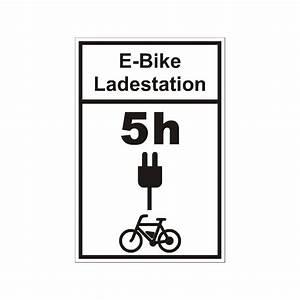 Warnschilder Selbst Gestalten : schild e bike ladestation mit wunschtext ~ Orissabook.com Haus und Dekorationen