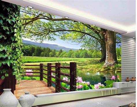 luxury european modern hd  tree landscape background
