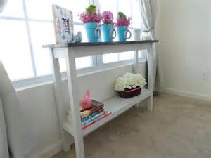 What to Consider when Buying a DIY Console Table