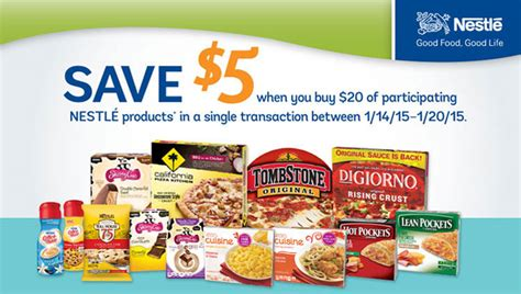 nestle products promotion