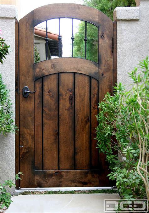 gate with door gate doors installation photo