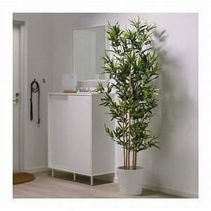 Plante De Salon : fejka plante artificielle en pot bambou salon pinterest plantes artificielles artificiel ~ Teatrodelosmanantiales.com Idées de Décoration