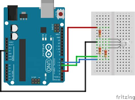 Using Common Cathode Anode Rgb Led With Arduino