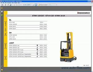 Jungheinrich  Spare Parts Catalog  Repair Manual Download