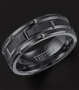 classic mens tungsten wedding bands wedding and bridal With mens black tungsten wedding rings