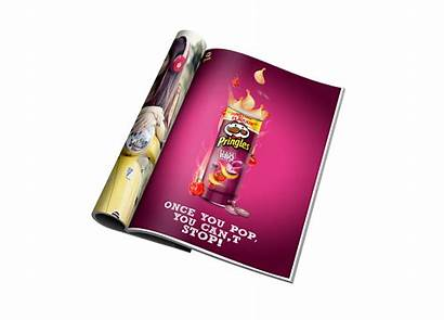 Pringles Ad Behance Project