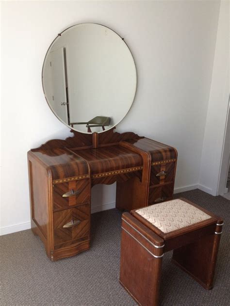 waterfall vanity dresser set 1000 ideas about waterfall furniture on