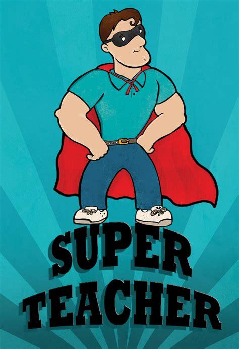 super teacher    card  teacher