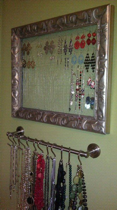 25 best ideas about necklace storage on diy necklace holder necklace holder and