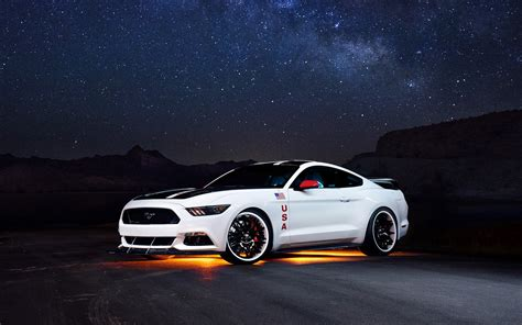 Ford Mustang Gt Apollo Edition, Car, Muscle Cars