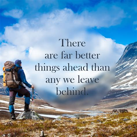 Inspirational Quote: Far Better Things - Lakehouse
