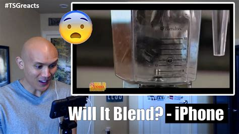 will it blend iphone will it blend iphone reaction