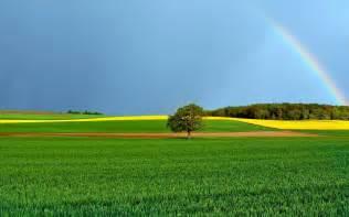 rainbow   farm photo hd wallpapers