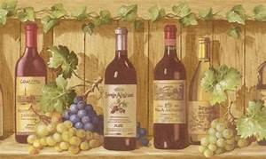Download Wine Bottle Wallpaper Border Gallery