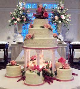 wedding cakes with fountains quince cake gallery my quince