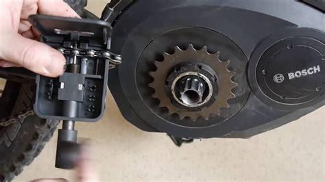 e bike tuning bosch performance kettenblatt wechseln bosch active performance ebike pedelec