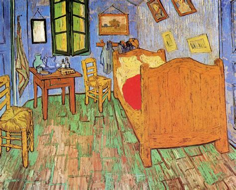 The Bedroom At Arles Analysis by Vincent Gogh The Bedroom 1889 All Three Versions Of