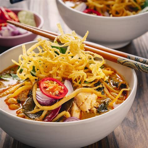 thai yellow curry noodle soup marions kitchen